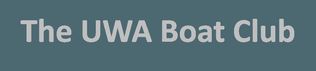 The UWA Boat Club